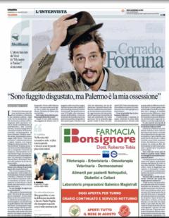 LA REPUBBLICA INTERVISTA CORRADO FORTUNA