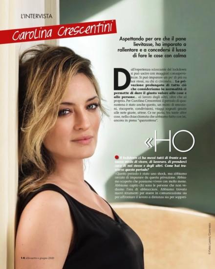 CAROLINA CRESCENTINI SU SILHOUETTE