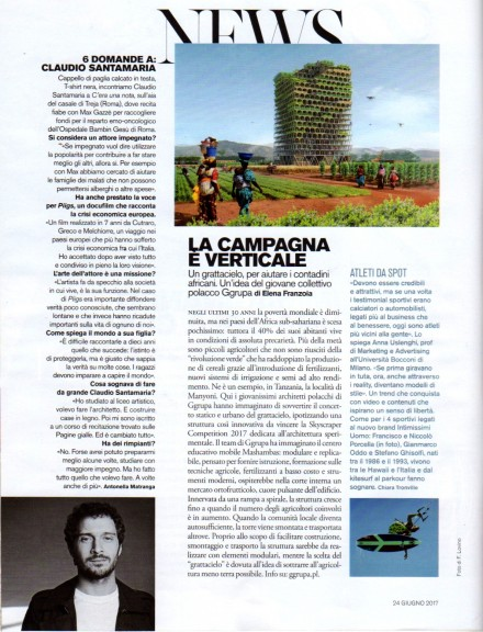 CLAUDIO SANTAMARIA SU D DI REPUBBLICA