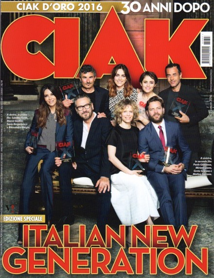 Alessandro Borghi e Marco Giallini sulla cover di Ciak
