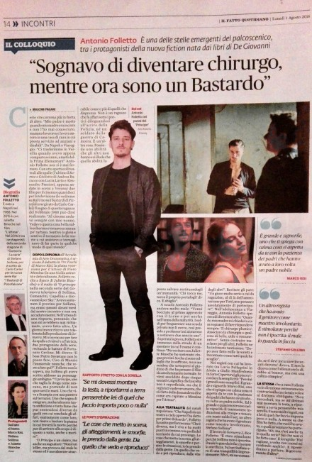 ANTONIO FOLLETTO SU IL FATTO QUOTIDIANO