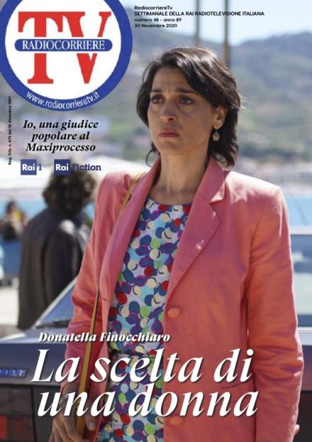 DONATELLA FINOCCHIARO SU RADIOCORRIERE TV