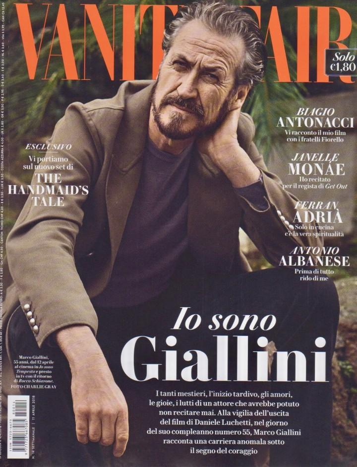 MARCO GIALLINI SU VANITY FAIR