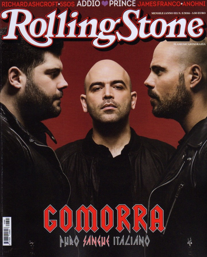 MARCO D'AMORE SU ROLLING STONE