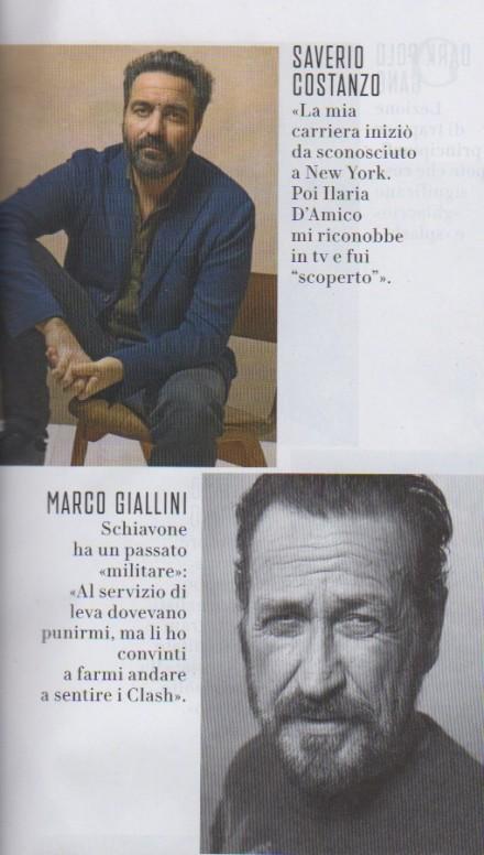 MARCO GIALLINI SU VANITYFAIR