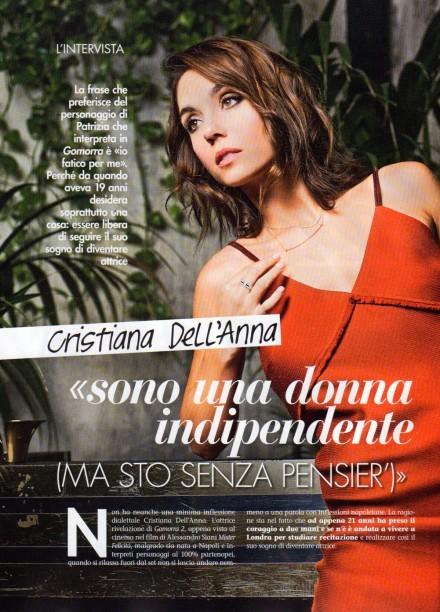 CRISTIANA DELL'ANNA SU SILHOUETTE DONNA