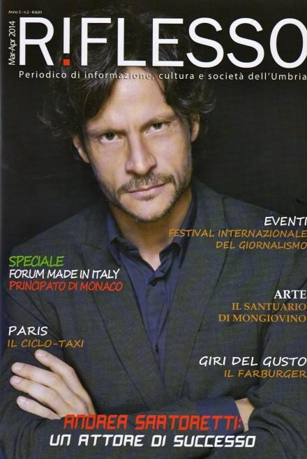 ANDREA SARTORETTI – COVER SU RIFLESSO