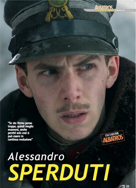 ALESSANDRO SPERDUTI SU ALBATROS