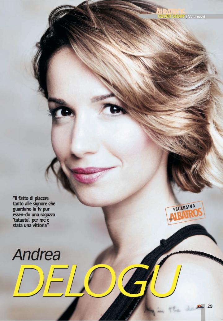 Andrea Delogu su Albatros di Agosto