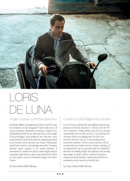 LORIS DE LUNA SU RED CARPET MAGAZINE