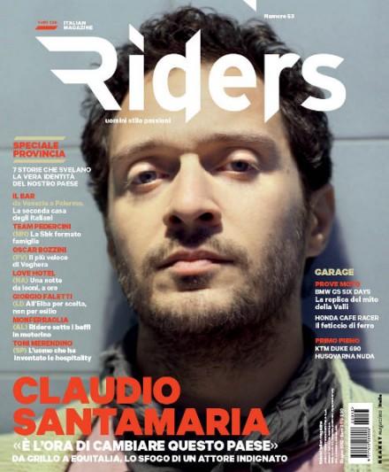 CLAUDIO SANTAMARIA – COVER DI RIDERS
