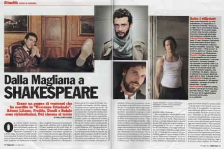 L'ESPRESSO. INTERVISTA A FRANCESCO MONTANARI, ANDREA SARTORETTI E ALESSANDRO ROJA