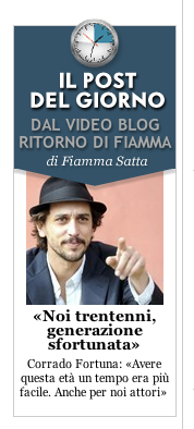 CORRADO FORTUNA SU VANITYFAIR.IT