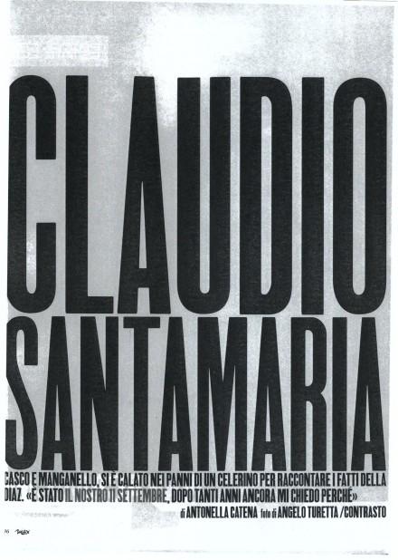 CLAUDIO SANTAMARIA SU MAX