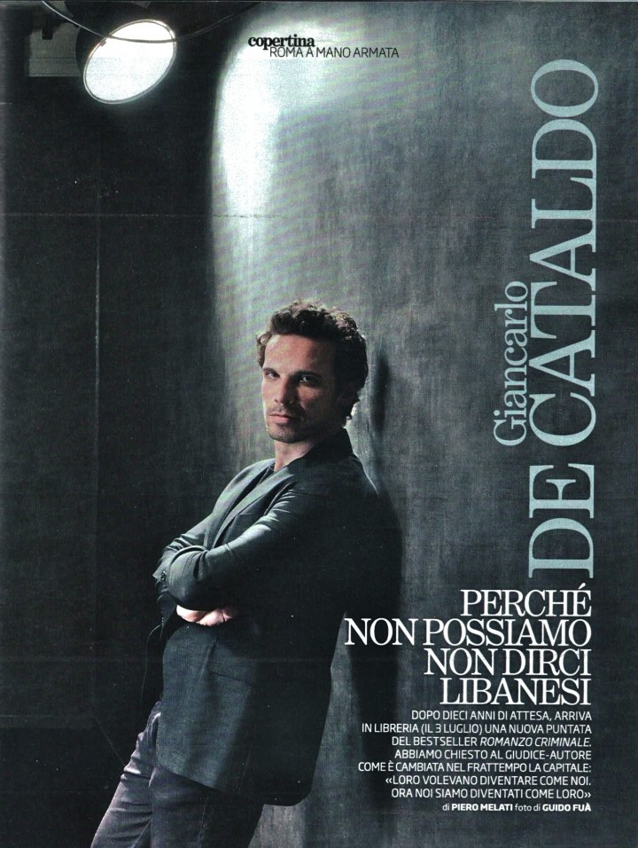 "FRANCESCO MONTANARI – COVER  DE ""IL VENERDI'"""