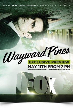 FOX – WAYWARD PINES EXCLUSIVE PREVIEW