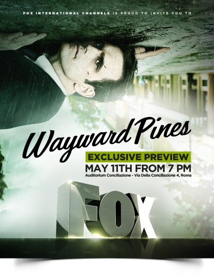 FOX – WAYWARD PINES EXCLUSIVE PREVIEW